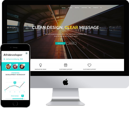 responsiveness - homepage
